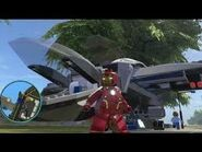 Iron man heroic age and jet