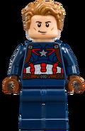 Lego captain america sin mascara 2016