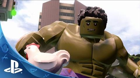 LEGO Marvel's Avengers - NYCC Trailer PS4, PS3, PS Vita