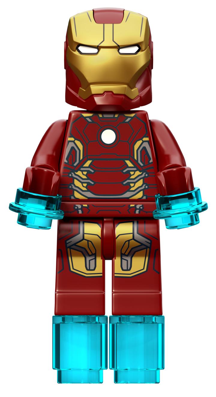 marvel lego iron man