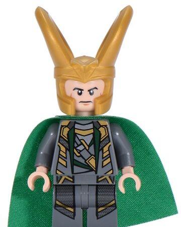 Lego Minifigure Figure Loki Avengers  Marvel Super Heroes 6868 6867 6869 sh033