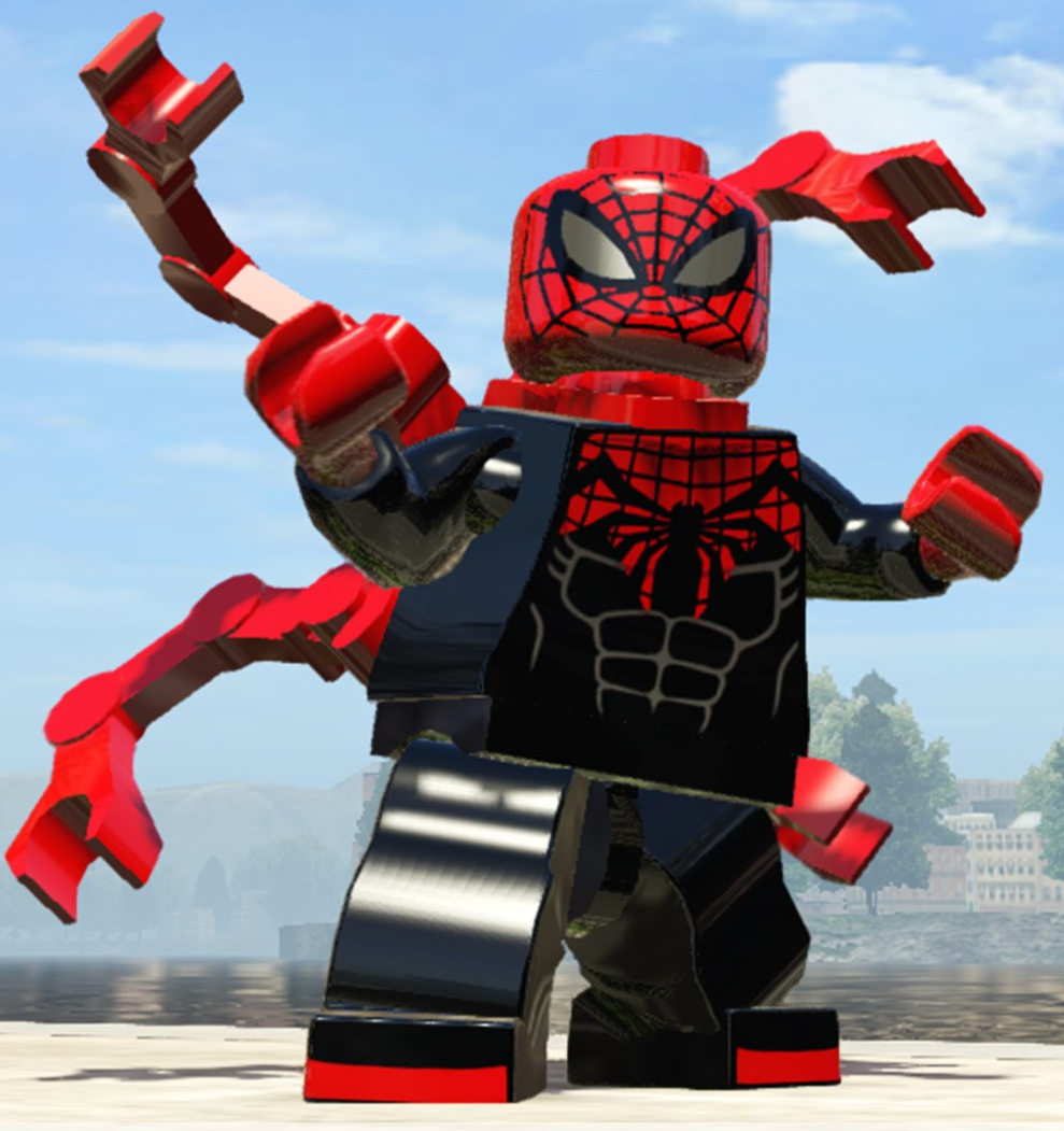 Superior Spider Man Lego Marvel And Dc Superheroes Wiki