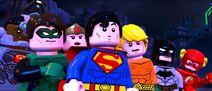 Lego dc villlains JUSTICE LEAGUE
