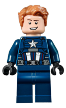 LEGO Captain America 2020 No Helmet