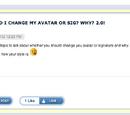 SHOULD I CHANGE MY AVATAR OR SIG? WHY? 2.0