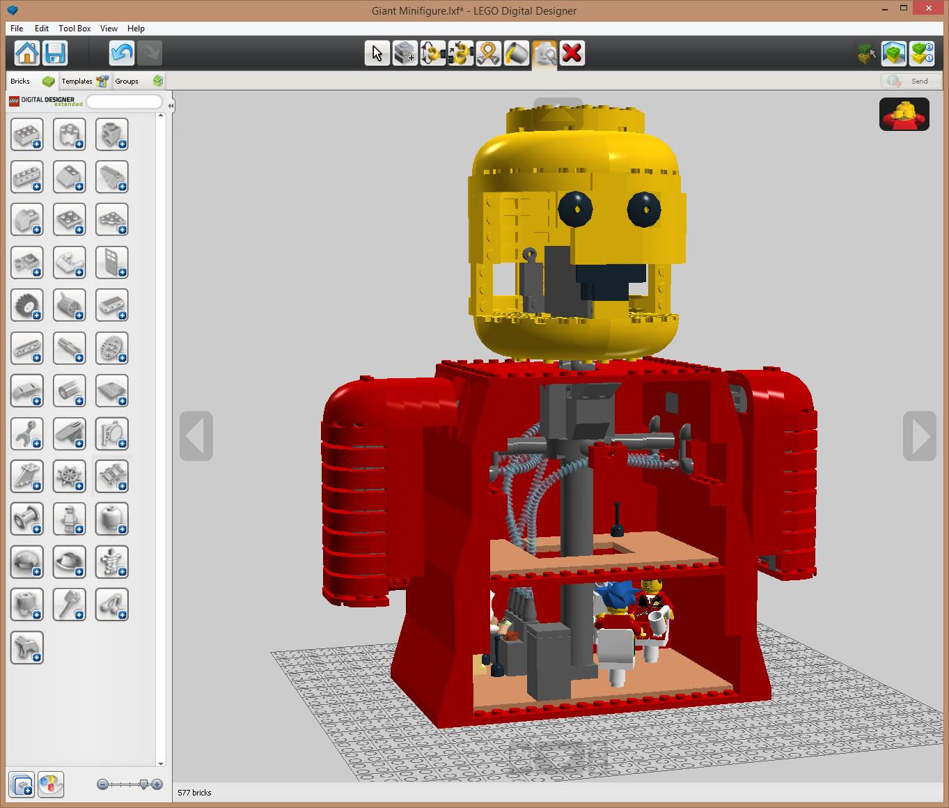 Image Giant Minifigure Lddg Lego Message Boards Wiki Fandom