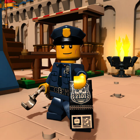 Policeman in-game
