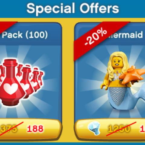 Holiday Season Special Offers Panel In-Game