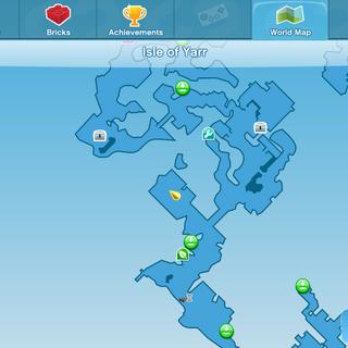 Smashing Bull Location World Map