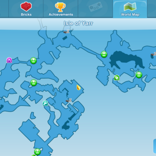 Commandeer the Bay Location World Map
