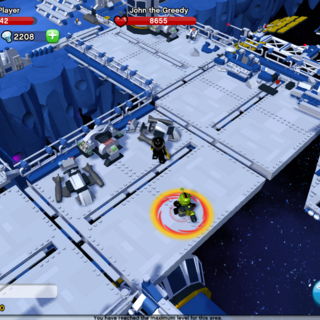 John the Greedy location, in Space Colony.
