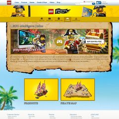 The Pirate Captain code on the Pirates website