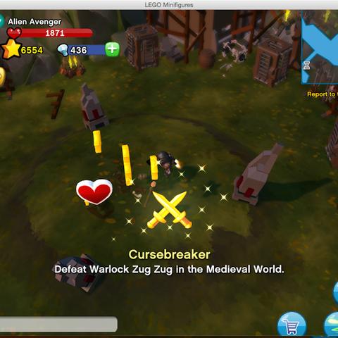 Getting the Cursebreaker Achievement