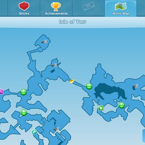 The Sunken Dutchman Location World Map