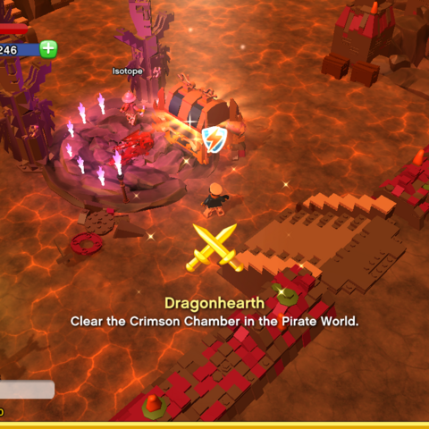 Dragonhearth Achievement awarded