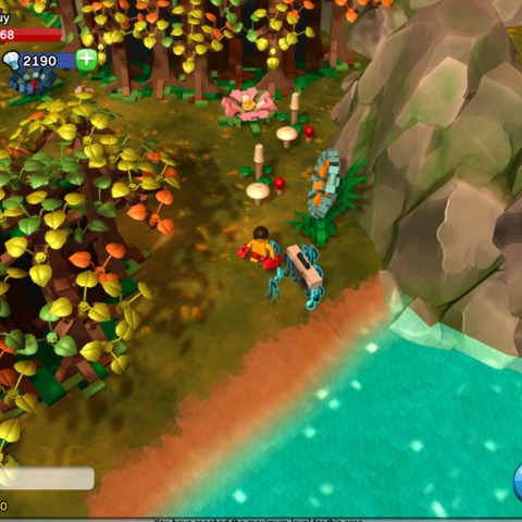 Boom box location in Enchanted Forest.