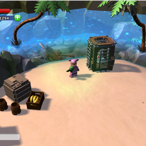 The Chicken Suit Guy location on the Isle of Smash, in the Lost Creations