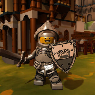 Heroic Knight in-game
