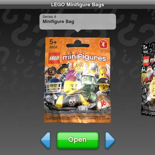 The old minifigure bag UI.
