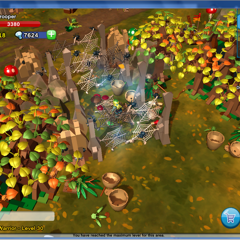 The Web Shortcut in Enchanted Forest.