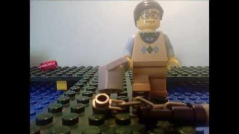 LEGO incredible steve episode 3 fishing