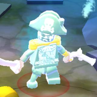 Captain Dreadleg in-game