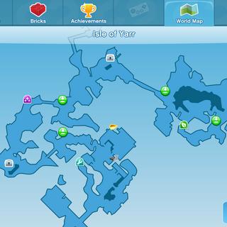 The Black Nest Location World Map