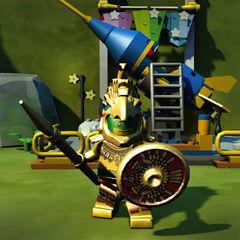 Aztec Warrior in-game