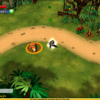 Chunk the Tiger In-Game