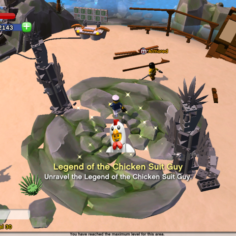 Unravel the Legend of the Chicken Suit Guy