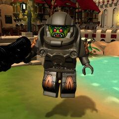 Alien Avenger in-game