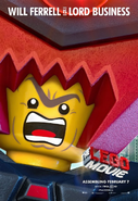 The LEGO Movie Poster Lord Buisiness