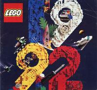 Katalog okładka 1992 Polska