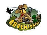 Logo Adventurers Wyspa Dinozaurów
