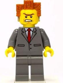 Lego Przygoda Prezes Biznes