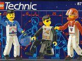 8714 Ludziki serii LEGO TECHNIC