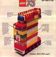 Katalog okładka 1973 Wielka Brytania