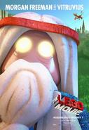 The LEGO Movie Poster Vitruvius