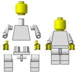 Minifigurka budowa