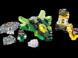76025 Zielona Latarnia vs. Sinestro