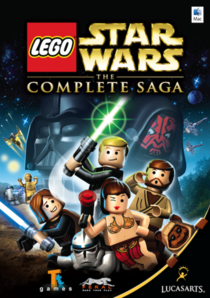 944-LEGO Star Wars Complete Saga Mac box art