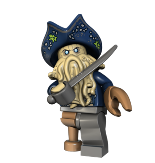 Davy Jones Lego Pirates Of The Caribbean The Video Game Wiki