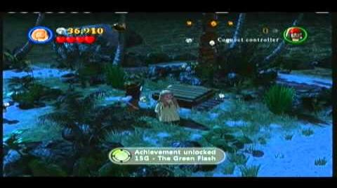 Lego Pirates of the Caribbean - Part 2 of Smuggler's Den