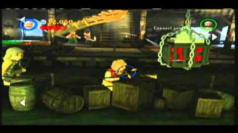 Lego Pirates of the Caribbean - Part 1 of the Kraken