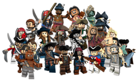 Categoryminifigures Lego Pirates Of The Caribbean The Video Game