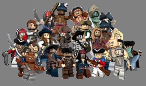 Lego-PiratesMinifgs