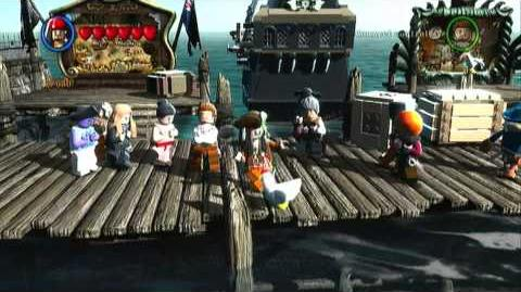 Lego CPT Jack Sparrow