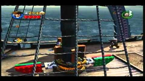 Lego Pirates of the Carribean - Part 2 of the Kraken