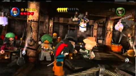 Lego Pirates of the Caribbean On Stranger Tides Episode 17 Chapter 2 Queen Anne's Revenge