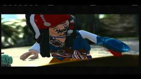 Lego Pirates of the Caribbean - Part 3 of Isla Cruces